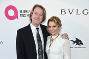 Jim Head (L) and Candace Cameron Bure attend the 26th annual Elton John AIDS Foundation Academy Awards Viewing Party sponsored by Bulgari, celebrating EJAF and the 90th Academy Awards at The City of West Hollywood Park on March 4, 2018 in West Hollywood, California.