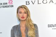 Romee Strijd attends the 26th annual Elton John AIDS Foundation's Academy Awards Viewing Party at The City of West Hollywood Park on March 4, 2018 in West Hollywood, California.