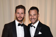 Ryan Kwanten (L) and Lloyd Kwanten attend the 26th annual Elton John AIDS Foundation Academy Awards Viewing Party sponsored by Bulgari, celebrating EJAF and the 90th Academy Awards at The City of West Hollywood Park on March 4, 2018 in West Hollywood, California.