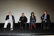 Michael Connelly, James Egan, N.C. Heikin and Ken Jacobson attend the screening of The Sound of Redemption  during the 26th Annual Palm Springs International Film Festival Film January 8, 2015 at  The Camelot Theatre in Palm Springs, California.