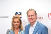 (L-R) Kathy Hilton and Rick Hilton attend the 26th annual Race to Erase MS on May 10, 2019 in Beverly Hills, California.