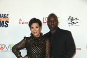 Kris Jenner and Corey Gamble attend the 26th annual Race to Erase MS on May 10, 2019 in Beverly Hills, California.
