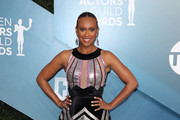 Ryan Michelle Bathe attends 26th Annual Screen Actors Guild Awards at The Shrine Auditorium on January 19, 2020 in Los Angeles, California.