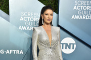 Catherine Zeta-Jones attends the 26th Annual Screen Actors Guild Awards at The Shrine Auditorium on January 19, 2020 in Los Angeles, California. 721430