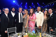 (L-R) Steve Buscemi, Daveed Diggs, Chief Content Officer, HBO Max and president, TNT, TBS, and truTV Kevin Reilly, Supervising Casting Director and President of The Casting Firm Goloka Bolte, President, Business Operations & Productions TBS & TNT Sandra Dewey, Vice President, Business Affairs, HBO Max/TNT/tbs Clinton Wilburn, Farrah Weitz, and General Manager of TNT and TBS Brett Weitz attend the 26th Annual Screen ActorsGuild Awards at The Shrine Auditorium on January 19, 2020 in Los Angeles, California. 721407