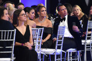 (L-R) Corinne Foxx, Jennifer Lopez, and Alex Rodriguez attend the 26th Annual Screen ActorsGuild Awards at The Shrine Auditorium on January 19, 2020 in Los Angeles, California. 721407