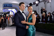 (L-R) Colin Jost and Scarlett Johansson attend the 26th Annual Screen ActorsGuild Awards at The Shrine Auditorium on January 19, 2020 in Los Angeles, California. 721313