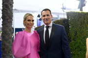 Molly Sims and Scott Stuber attend the 26th Annual Screen ActorsGuild Awards at The Shrine Auditorium on January 19, 2020 in Los Angeles, California. 721384