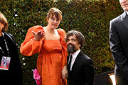 Erica Schmidt and Peter Dinklage attend the 26th Annual Screen ActorsGuild Awards at The Shrine Auditorium on January 19, 2020 in Los Angeles, California. 721384