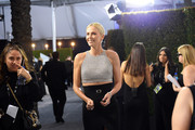 Charlize Theron attends the 26th Annual Screen ActorsGuild Awards at The Shrine Auditorium on January 19, 2020 in Los Angeles, California. 721384