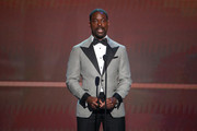 Sterling K. Brown speaks onstage during the 26th Annual Screen ActorsGuild Awards at The Shrine Auditorium on January 19, 2020 in Los Angeles, California.