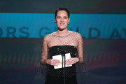 Phoebe Waller-.Bridge presents the award for Ensemble in a Drama Series onstage during the 26th Annual Screen Actors Guild Awards at The Shrine Auditorium on January 19, 2020 in Los Angeles, California.