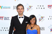 Ryan Corr and Miranda Tapsell arrive at the 27th Annual ARIA Awards 2013 at the Star on December 1, 2013 in Sydney, Australia.