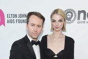 (L-R) Tyler Shields and Allie Evans attend the 27th annual Elton John AIDS Foundation Academy Awards Viewing Party sponsored by IMDb and Neuro Drinks celebrating EJAF and the 91st Academy Awards on February 24, 2019 in West Hollywood, California.