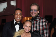 (L-R) Don Lemon, Kristin Chenoweth, and Bryan Fuller attend the 27th annual Elton John AIDS Foundation Academy Awards Viewing Party sponsored by IMDb and Neuro Drinks celebrating EJAF and the 91st Academy Awards on February 24, 2019 in West Hollywood, California.