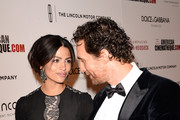 Model Camila Alves McConaughey (L) and honoree Matthew McConaughey attend the 28th American Cinematheque Award honoring Matthew McConaughey at The Beverly Hilton Hotel on October 21, 2014 in Beverly Hills, California.