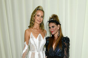 Lady Victory Harvey and Stacy Engman attend the 28th Annual Elton John AIDS Foundation Academy Awards Viewing Party sponsored by IMDb, Neuro Drinks and Walmart on February 09, 2020 in West Hollywood, California.