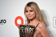 Heidi Klum attends the 28th Annual Elton John AIDS Foundation Academy Awards Viewing Party sponsored by IMDb, Neuro Drinks and Walmart on February 09, 2020 in West Hollywood, California.