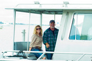 Alexis Roderick and Billy Joel attend Friends Of The Bay Cleanup at Theodore Roosevelt Park on September 21, 2013 in Oyster Bay, New York.