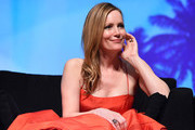 """Actress Leslie Mann speaks at the Closing Night Screening of """"The Comedian"""" at the 28th Annual Palm Springs International Film Festival on January 15, 2017 in Palm Springs, California."""
