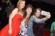 """Actress Leslie Mann greets fans at the Closing Night Screening of """"The Comedian"""" at the 28th Annual Palm Springs International Film Festival on January 15, 2017 in Palm Springs, California."""