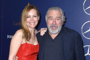 """Actress Leslie Mann and actor Robert De Niro attend the Closing Night Screening of """"The Comedian"""" at the 28th Annual Palm Springs International Film Festival on January 15, 2017 in Palm Springs, California."""