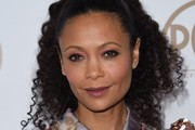 Actress Thandie Newton arrives on the red carpet for the 2017 Producers Guild Awards at the Beverly Hilton in Beverly Hills, California on January 28, 2017. / AFP / Chris Delmas