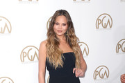 Model Chrissy Teigen attends the 28th Annual Producers Guild Awards at The Beverly Hilton Hotel on January 28, 2017 in Beverly Hills, California.