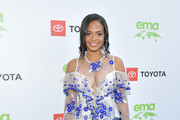 Christina Milian attends 29th Annual Environmental Media Awards at Montage Beverly Hills on May 30, 2019 in Beverly Hills, California.