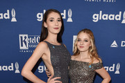 Juliet Evancho and Jackie Evancho attend the 29th Annual GLAAD Media Awards at The Hilton Midtown on May 5, 2018 in New York City.
