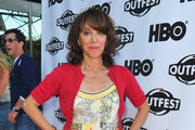 """Actress Andrea Martin arrives to the 29th Annual Los Angeles Gay & Lesbian Film Festival's premiere of """"The Green"""" at the Directors Guild Of America on July 9, 2011 in Los Angeles, California."""
