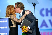 Aaron Sorkin Jessica Chastain Photos Photo