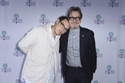 Joe Wright and Gary Oldman attend the 29th Annual Palm Springs International Film Festival Talking Pictures Screenings on January 3, 2018 in Palm Springs, California.