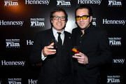 Director David O. Russell and SBIFF director Roger Durling attend the presentation of the Outstanding Director Award at the Arlington Theatre at the 29th Santa Barbara International Film Festival on January 31, 2014 in Santa Barbara, California.