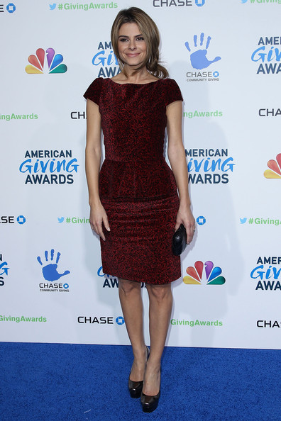 Maria+Menounos in 2nd Annual American Giving Awards Presented By Chase - Arrivals