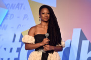 Monique Coleman speaks onstage at the 2nd Annual Girl Up #GirlHero Awards at the Beverly Wilshire Four Seasons Hotel on October 13, 2019 in Beverly Hills, California.
