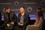 """(L-R) Ben McKenzie, Danny Cannon and Kristen Baldwin attend the 2nd annual Paleyfest New York Presents: """"Gotham"""" at Paley Center For Media on October 18, 2014 in New York, New York."""