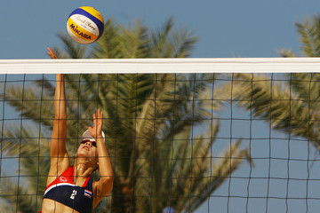 Kamoltip Kulna 2nd Asian Beach Games - Day 4: Beach Volleyball