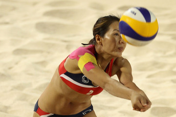 Kamoltip Kulna 2nd Asian Beach Games - Day 8: Beach Volleyball