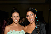 (L-R) Melissa Fumero and Stephanie Beatriz attend the 30th Annual GLAAD Media Awards Los Angeles at The Beverly Hilton Hotel on March 28, 2019 in Beverly Hills, California.
