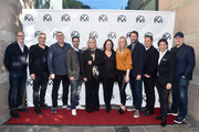 Jim Burke, Alfonso Cuaron, Graham King, Raymond Mansfield, Ceci Dempsey, Lucy Fisher, Lynette Howell Taylor, Andrew Form, Kevin Messick, John Penotti and Kevin Feige attend the 2019 PGA Nominees Breakfast on January 19, 2019 in Beverly Hills, California.