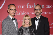 (L-R) Viktor Horsting, Carol Hamilton and Rolf Snoeren attend the 31st Annual FGI Night of Stars event at Cipriani Wall Street on October 23, 2014 in New York City.