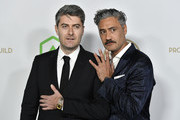 (L-R) Carthew Neal and Taika Waititi attend the 31st Annual Producers Guild Awards at Hollywood Palladium on January 18, 2020 in Los Angeles, California.