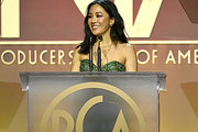 Constance Wu speaks onstage during the 31st Annual Producers Guild Awards at Hollywood Palladium on January 18, 2020 in Los Angeles, California.