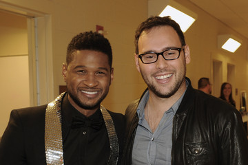 Usher Scooter Braun 33rd Annual Georgia Music Hall Of Fame Awards - Backstage And Audience