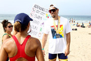 Steve Howey attends the 33rd Annual Nautica Malibu Triathlon Presented By Bank Of America on September 15, 2019 in Malibu, California.
