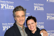 Ross Partridge and Jennifer Lafleur at the Maltin Modern Master Award Honoring Gary Oldman during the The 33rd Santa Barbara International Film Festival at Arlington Theatre on February 2, 2018 in Santa Barbara, California.