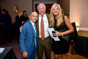 (L-R) Honoree Mike Smith, Nick Buoniconti III, and Dena Buoniconti attend the 33rd Annual Great Sports Legends Dinner, which raised millions of dollars for the Buoniconti Fund to Cure Paralysis at The New York Hilton Midtown on September 24, 2018 in New York City.