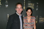 Mike Birbiglia and Jen Stein attend the 34th Annual Lucille Lortel Awards on May 05, 2019 in New York City.