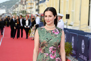Amira Casar attends the closing ceremony of the 34th Cabourg Film Festival on June 29, 2020 in Cabourg, France.